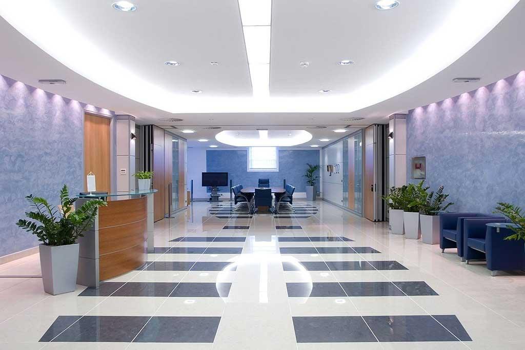 Чистое офисное помещение
